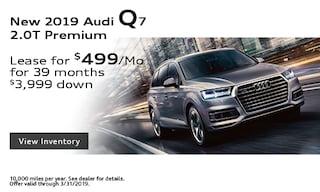 New 2019 Audi Q7 2.0T Premium
