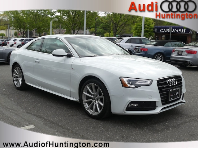 Used 2016 Audi A5 2.0T Premium Plus Coupe WAUM2AFR7GA026667 in Huntington, NY