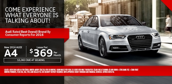 Audi A Specials Audi Dealership Near Oyster Bay NY - Audi a4 lease