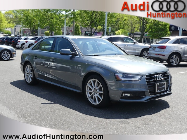Used 2016 Audi A4 Premium Sedan WAUBFAFL1GN016118 in Huntington, NY
