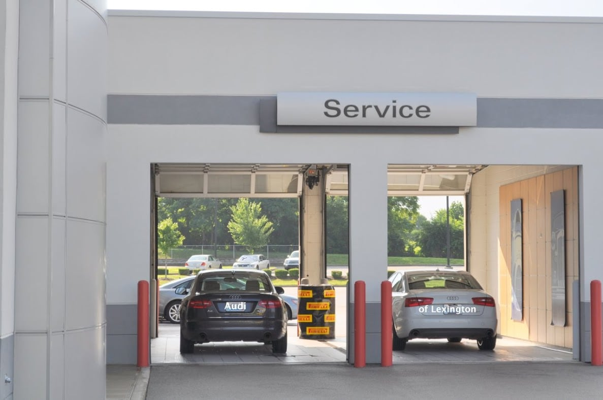 Service Center at Audi of Lexington and serving Richmond