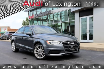 Used 2016 Audi A3 For Sale at Audi of Lexington | VIN