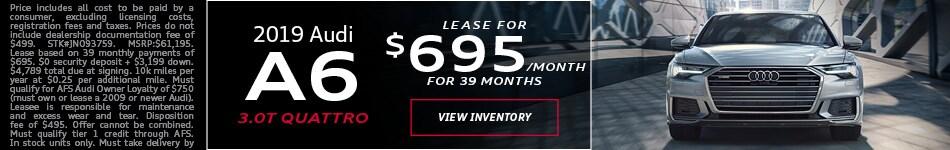 2019 Audi A6 Feb