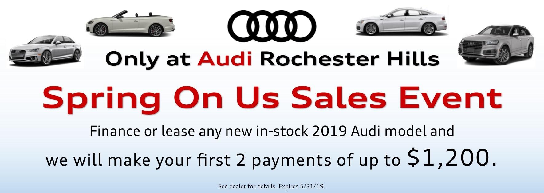 Audi Rochester Hills New Audi Dealership In Rochester Hills Mi
