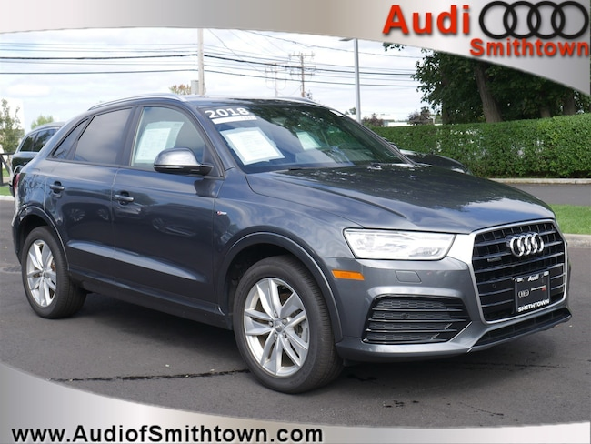 Certified Pre-Owned 2018 Audi Q3 2.0T SUV near Smithtown, NY
