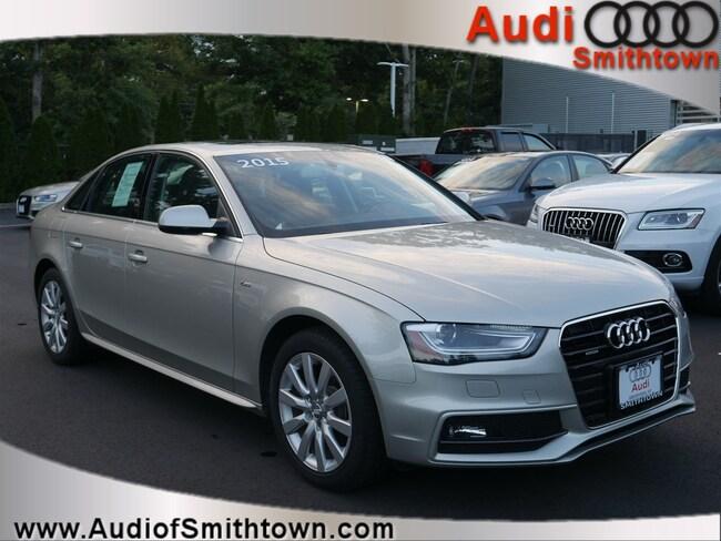 Used 2015 Audi A4 2.0T Premium (Tiptronic) Sedan Smithtown, NY