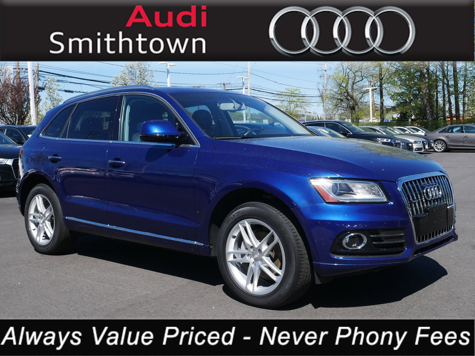 Featured pre-owned 2017 Audi Q5 2.0T Premium SUV for sale near Smithtown, NY