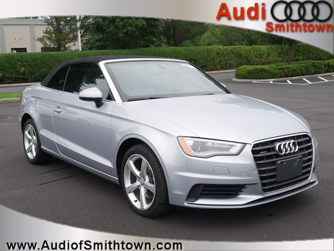 Used 2015 Audi A3 2.0T Premium (S tronic) Cabriolet Smithtown, NY
