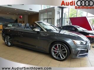 New 2018 Audi S5 3.0T Premium Plus Cabriolet WAUY4GF57JN002381 near Smithtown, NY