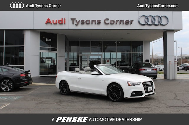 Certified Used 2017 Audi A5 2.0T Sport Sport Cabriolet for Sale in Vienna, VA