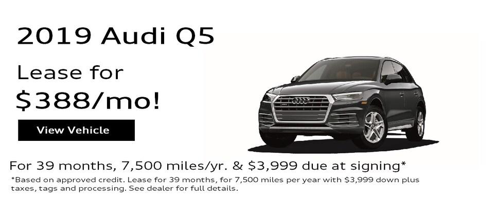 2019 Audi Q5 2.0T Premium Special Lease*