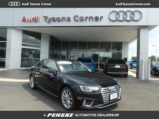 New 2019 Audi A4 2.0T Premium Sedan for Sale in Vienna, VA