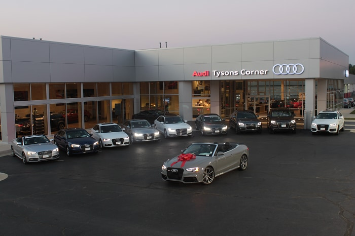 Audi Tysons Corner New Audi Dealership In Vienna VA - Audi tysons corner