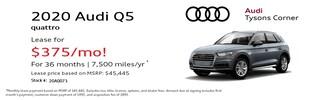 2020 Audi Q5 45 Premium Special Lease*