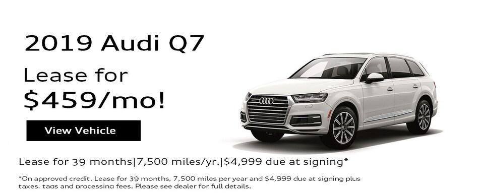 2019 Audi Q7 2.0T Premium Special Lease*