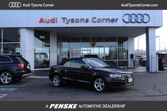 Certified Used 2015 Audi A3 2.0T Premium Cabriolet for Sale in Vienna, VA