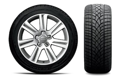 A4 Winter Tire and Wheel Package Special