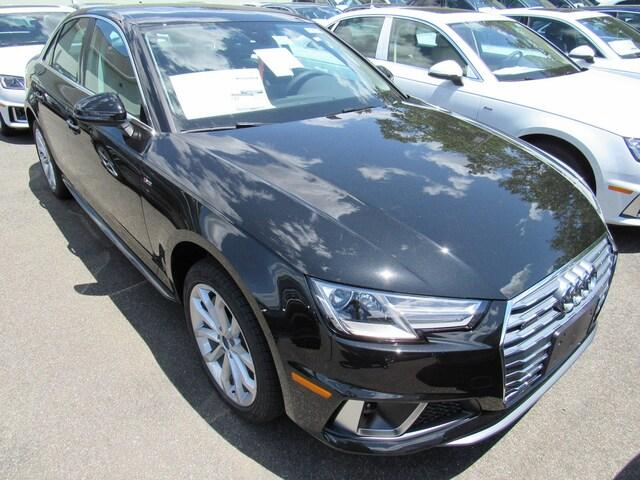 New 2019 Audi A4 2.0T Premium Sedan for sale in Wallingford, CT at Audi of Wallingford