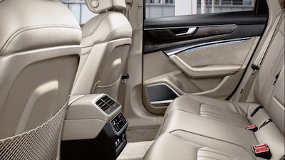 Audi A6 back seat