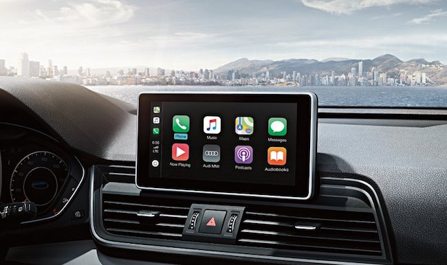 Which Audi has Apple CarPlay