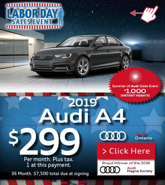 Audi Ontario | Audi Dealer Near Los Angeles, CA