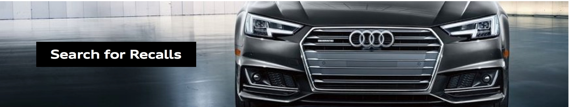 check for Audi recalls