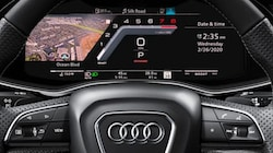 2021 Audi SQ7 virtual cockpit