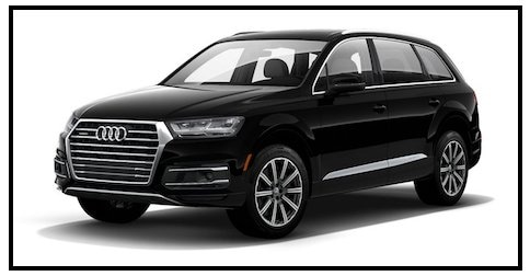 Audi Q7 Night Black near Los Angeles