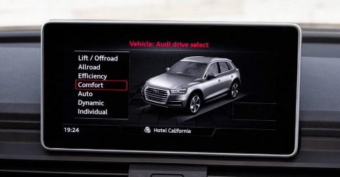 2018 Audi Q5 drive modes