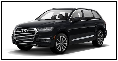 Audi Q7 Ocra Black near Los Angeles