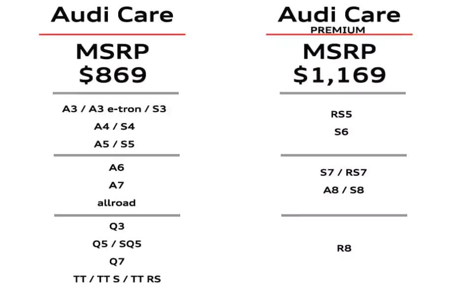 Audi Care Prepaid Maintenance | Ontario CA Audi Dealer ^