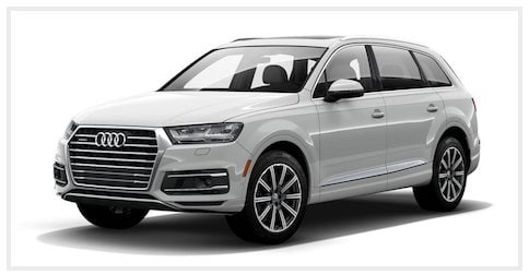 Audi Q7 Glacier White near Los Angeles