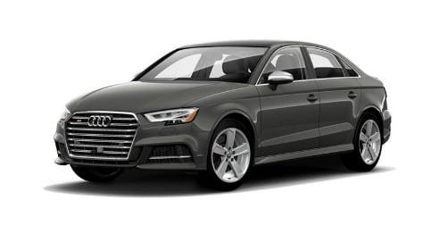 2018 Audi S3 Premium Plus in Nano Gray