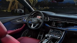 2021 Audi SQ7 interior cabin