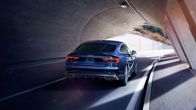 2018 Audi A5 Sportback rear