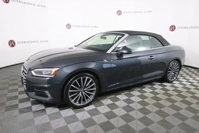 2018 Audi A5 2.0T Premium Plus Convertible Milwaukee