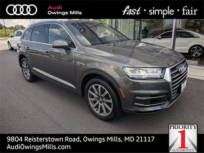 Used 2018 Audi Q7 For Sale at Audi Owings Mills | VIN