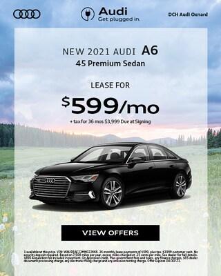 New 2021 Audi A6
