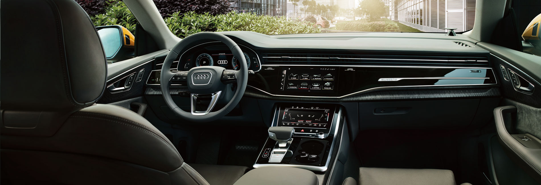 Audi Q8 Interior Features