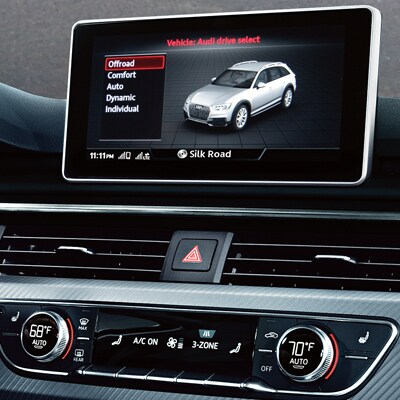 Audi Allroad MMI Touch Technology