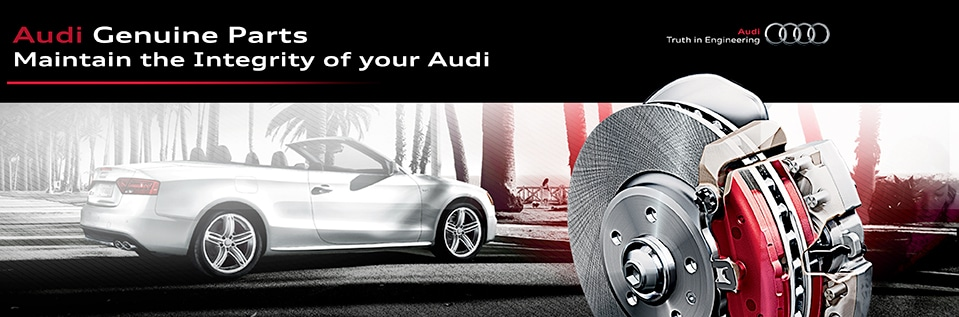 Audi Genuine Parts - available at DCH Audi Oxnard