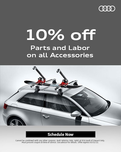 10% Parts and Labor on all Accessories