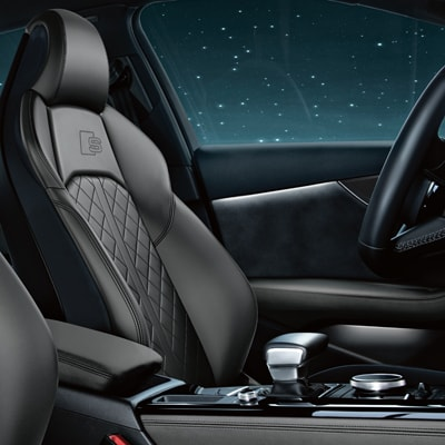 Audi A4 Luxury Seats