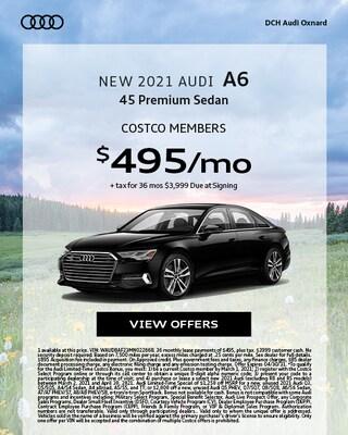 New 2021 Audi A6 Costco
