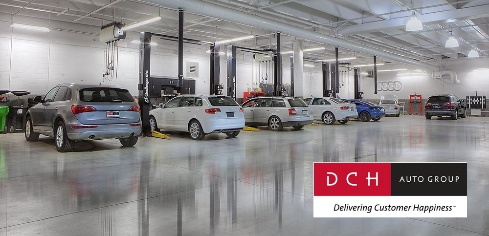 Inside the Service Center at DCH Audi Oxnard