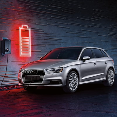 Audi A3 e-tron Electric Charging Design