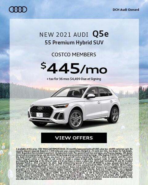 New 2021 Audi Q5e
