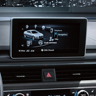 Audi A5 MMI Touch Technology