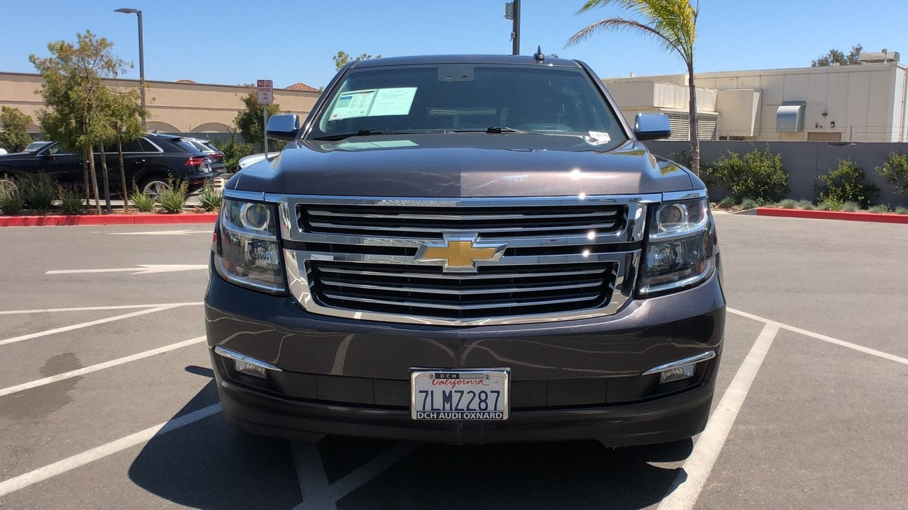 Used 2015 Chevrolet Tahoe LTZ SUV Tungsten For Sale in