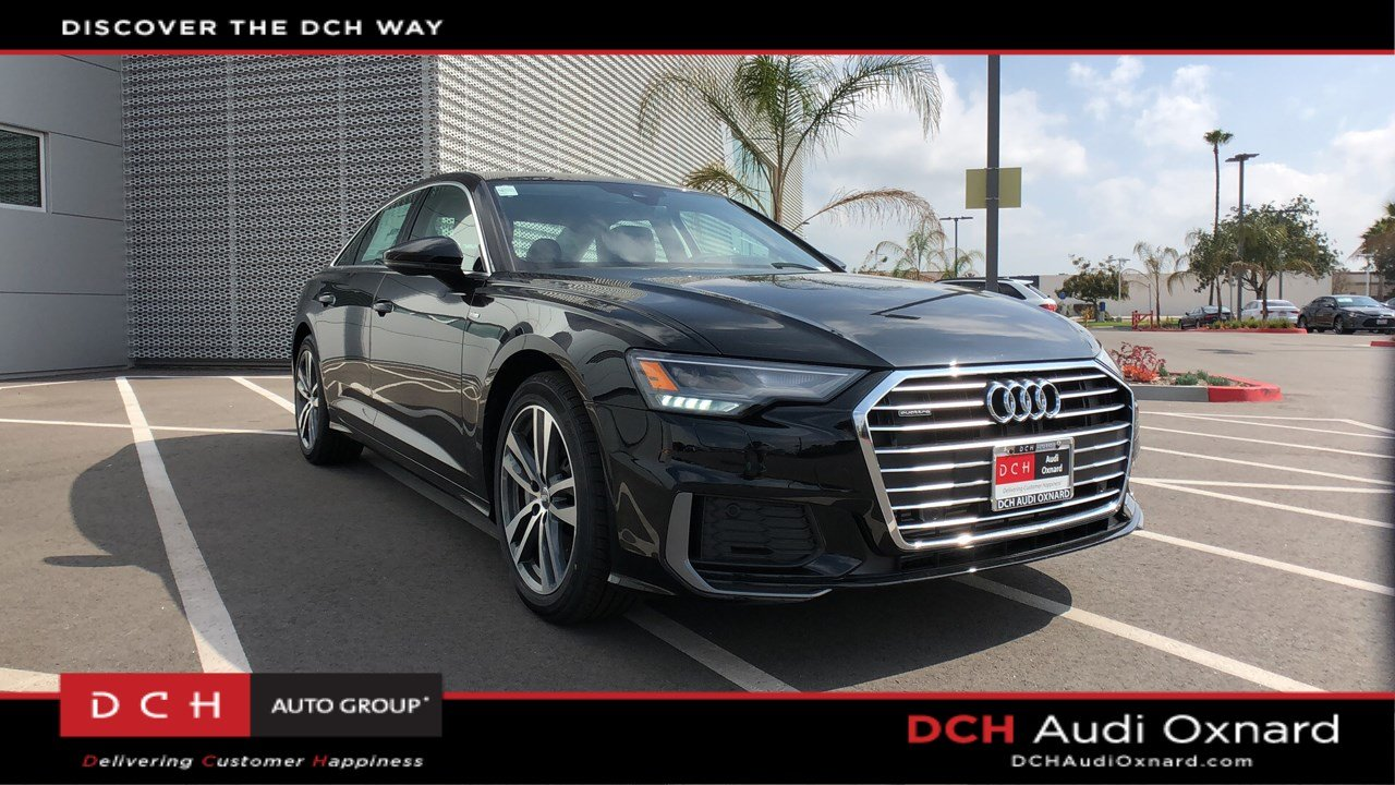 New 2019 Audi A6 3 0T Premium Sedan Mythos black
